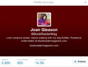 Joan Gleason twitter